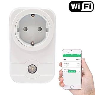 Wifi Smart Steckdose Drahtlose Steckdose Drahtlose Fernbedienung Steckdose Schalter Digitale Timing Funktion Steuerung Elektrische Stecker Schalter für Haushaltsgeräte