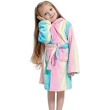 bambin serviette /à capuchon b/éb/é chemise de nuit en flanelle robe de bain gar/çons filles animal pyjamas mignon robe de nuit Enfants peignoir robe de chambre