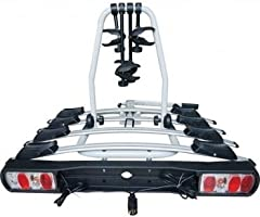 Streetwize Titan 4 Cycle Carrier 4 Bike Rear Platform Towball Mount