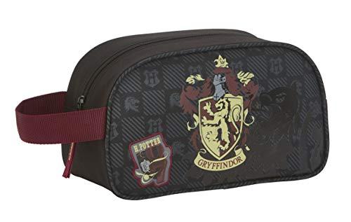 419nvFt xdL - Safta - Neceser de Harry Potter Oficial Gryffindor con asa y Cremallera