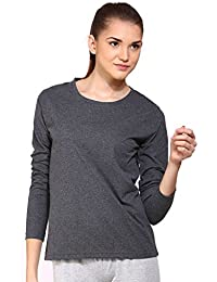 Ap'pulse Women's Long Sleeve Round Neck T Shirt
