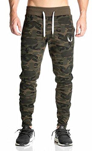 Pocket Cuffed Capris (UMilk Herren Active Reißverschluss Kapuzenpullover Laufen Sweatshirts Zipper Pockets Jacket)