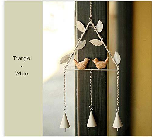 Kreativer Vogel Handgefertigte Metall Glocken Campanula Wohnkultur Ornamente Eisen Anhänger - 04 ()