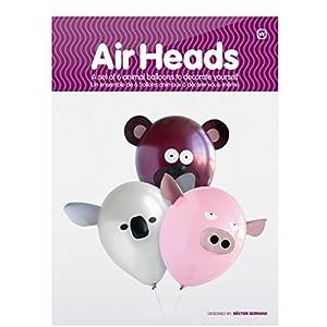 NPW Air Köpfe Animal Party Ballon (Pack von 6)