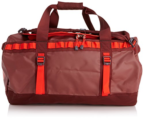 The North Face Unisex Reisetasche Base Camp Cherry Stain Brown/Fiery Red