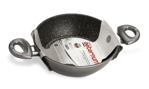 Bialetti Y0ESTE0320 Stone Energy Induction Pan 32 centimetri