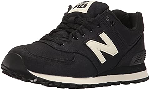 New Balance Damen 574 Sneakers, Grau (Charcoal), 40.5 EU