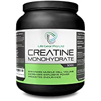 Micronised Creatine Monohydrate Powder 500g Pure Unflavoured Creatine