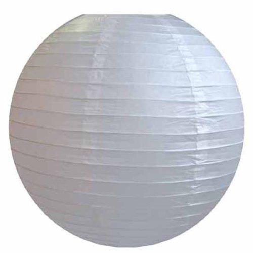 AAF Nommel ® 250, Lampion 1 Stk. Papier weiss japanisch rund Durchmesser 40 cm -