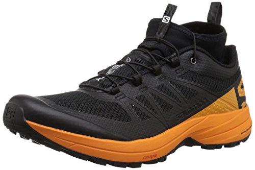 SALOMON XA Enduro, Scarpe da Trail Running Uomo, Nero Bright Marigold/Black 000, 43 1/3 EU