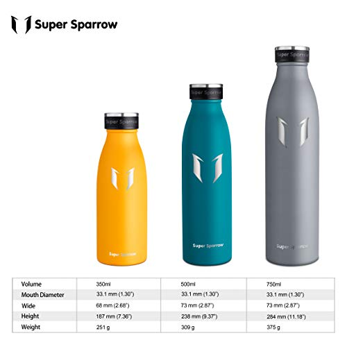 Zoom IMG-3 super sparrow borraccia termica 350ml