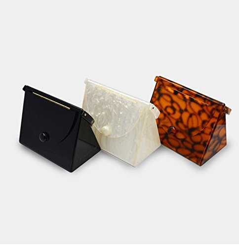 Flada , Damen Clutch orange Orange M weiß