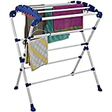 ORRIL Mini Sumo Very Easy to Assemble Cloth Dryer Stand - Make in India (Multicolor)