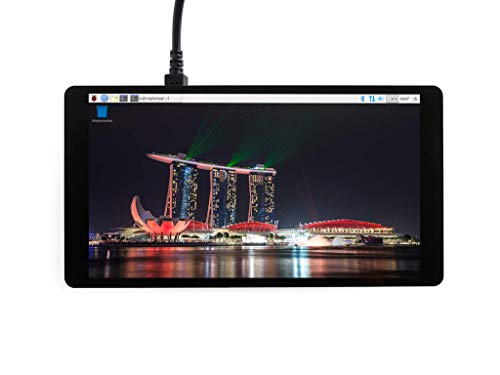 Waveshare 5.5inch 1920x1080 Capacitive Touch Screen AMOLED with Toughened Glass Cover 6H Hardness HDMI Interface Display Supports Multi Systems Supports Raspberry Pi Multi-display-system