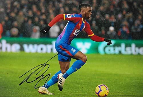 Foto mit Unterschrift von DJW Football Prograes Aaron Wan Bissaka, 30,5 x 20,3 cm