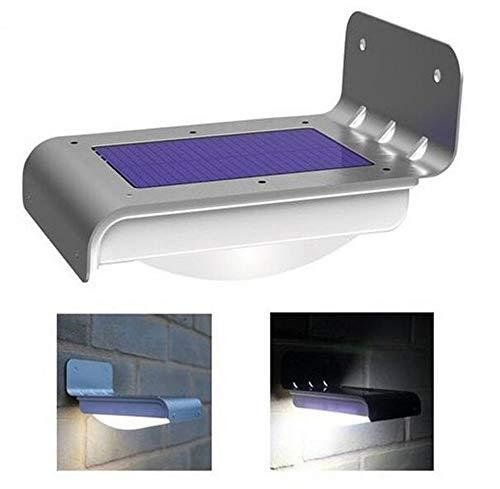 Frostfire 16 helle, kabellose, solarbetriebene LED Bewegungsmelderlampen (Wetterfest, Batterielos)