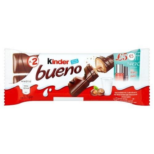 Nutrexpa - Chocolatina kinder bueno 43 g
