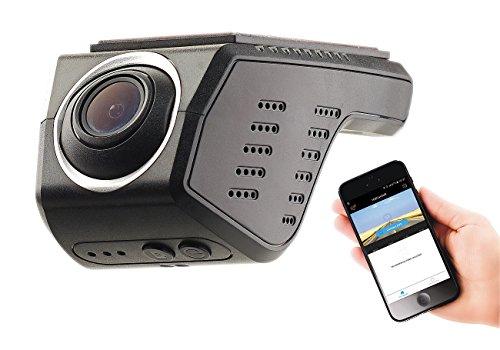 NavGear Autocamera: Unauffällige HD-Dashcam, G-Sensor, WLAN, App-Steuerung, Android & iOS (WiFi Cam)
