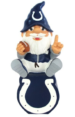 Indianapolis Colts Gnome Sitting on Team Logo (Colts-fußmatten)