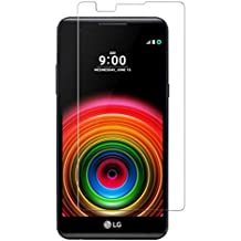 Funnytech_ - Cristal templado para LG X Power. Protector de pantalla transparente para LG X Power. Vidrio templado antigolpes (Grosor 0,3mm) – Kit de instalación incluido