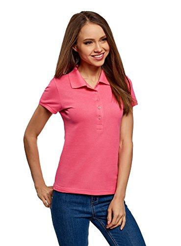 oodji Ultra Women's Basic Pique Polo Shirt