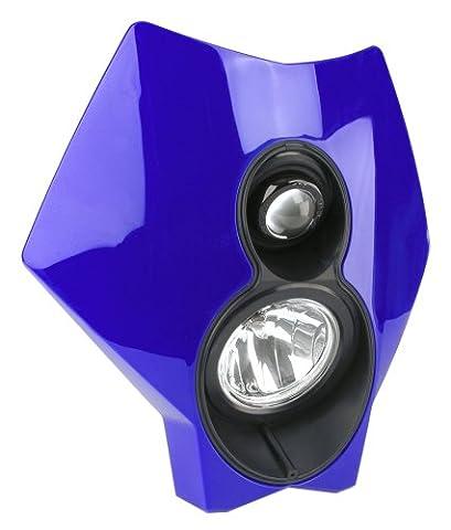 Trail Tech (36T5F-70) X2 Torch Blue 70W Universal Motorcycle Off-Road Halogen Headlight