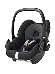 Maxi-Cosi Pebble Group 0+ Car Seat, Black Raven (Old Model)