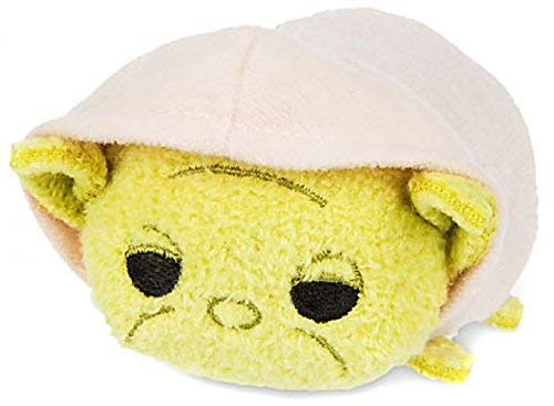 New Disney Store Mini 8.9cm Tsum Tsum Yoda (Snow White Bösewicht Aus)
