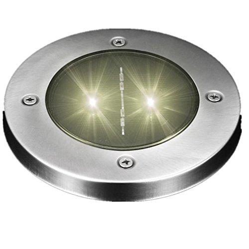 Solar-outdoor-lampen Spot (ESAILQ Solar LED Outdoor Pfad Licht Spot Lampe Yard Garten Rasen Landschaft wasserdicht (E))