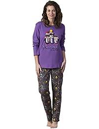 MASSANA Pijama de Dos Piezas para Mujer