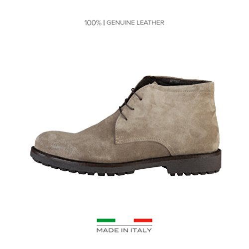 Made In Italia Uomo Shoes Safari grigio Size: EU 42