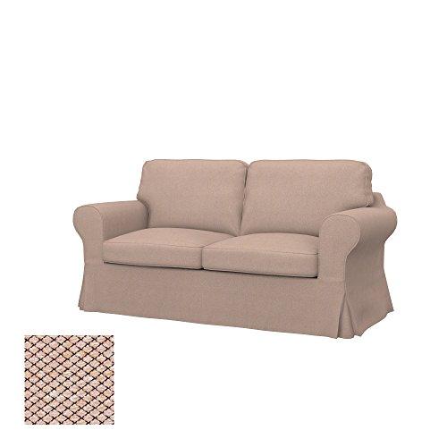 Soferia - IKEA EKTORP Funda para sofá Cama de 2 plazas, Nordic...