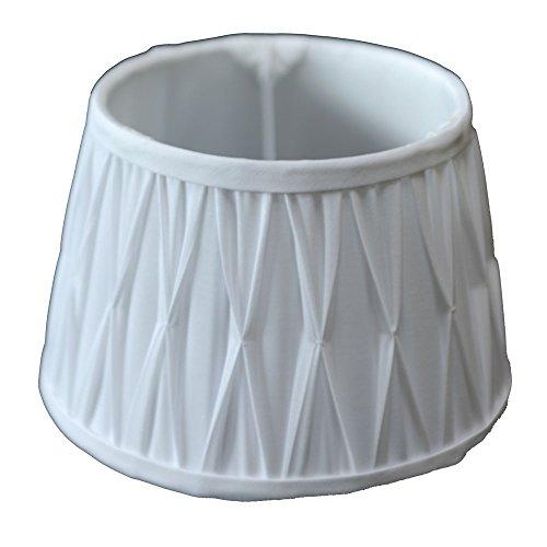 Lampenschirm Plissee Weiß TL 40-30-22