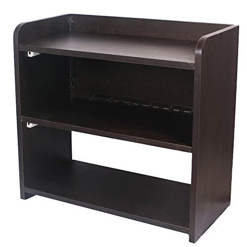 Ebee Wooden 3 Shelves Shoe Rack Wenge