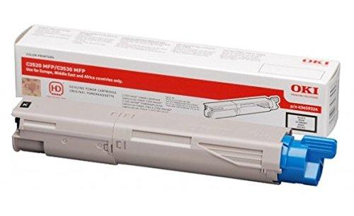 Preisvergleich Produktbild Oki 43459324 schwarz Kompatibel 2.500 seiten - neu - ein Jahr Garantie