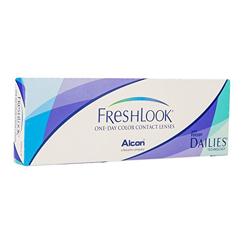 Contact lens Ciba Vision FreshLook One-Day Gray Color 10 Lens Plano Power (0) By HOPL