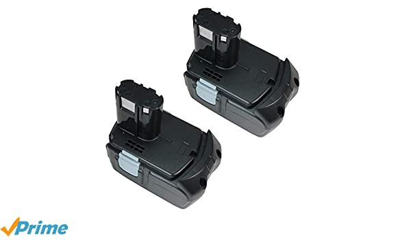 2x Batterie 18v 4000mah Li-Ion pour Hitachi G 18dlx g18dl KC 18da rb 18dl ub 18d ub 1