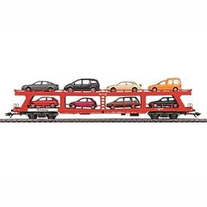 Märklin - 42341 - Modélisme Ferroviaire - Wagon - Porte-Autos - DB AG