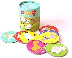 Shumee Farm Animals Memory Cards Game (3 years+) - Curiosity, creativity & fine motor