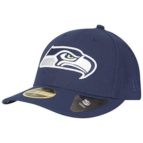 New Era 59Fifty LOW PROFILE Cap - Seattle Seahawks - 7 3/4