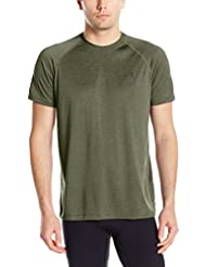 Under Armour Ua Tech Ss Tee Herren Fitness - T-shirts & Tanks, Grün (Downtown Green), Gr. XL