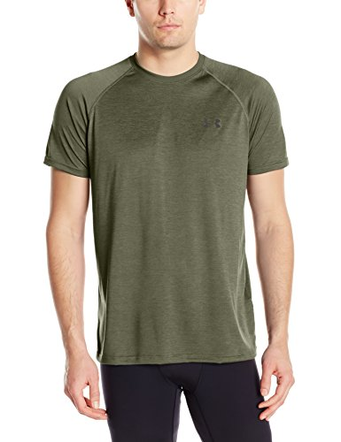 Under Armour Ua Tech Ss Tee Herren Fitness - T-Shirts & Tanks, Grün (Downtown Green), M (Green T-shirt Tee)