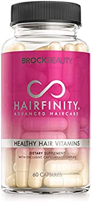 Hairfinity Hair Vitamins - Scientifically Formulated with Biotin, Amino Acids, and a Vitamin Supplement That H
