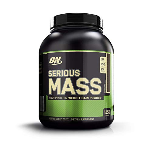 Optimum Nutrition Serious Mass, Sabor Chocolate - 2720 gr