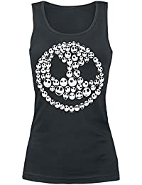 The Nightmare Before Christmas Skulls Of Skulls Girls Top black