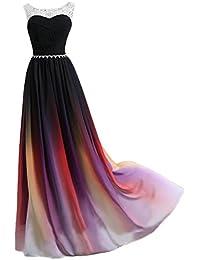 Gorgeous Bride Abendkleider Elegant Lang 2017 Damen Chiffon A-Linie Ballkleider Festkleider Cocktailkleider
