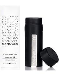 Nanogen Nanofibres Poudre de Cheveux Châtain Moyen 30 g