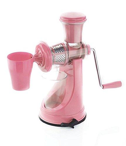 Active Fruit & Vegetable Juicer Mixer Grinder with Waste Collector, (Pink)