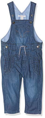 ESPRIT KIDS Baby-Jungen Rp2000207 Dungarees Latzhose, Blau (Medium Wash Denim 463), (Herstellergröße: 86)