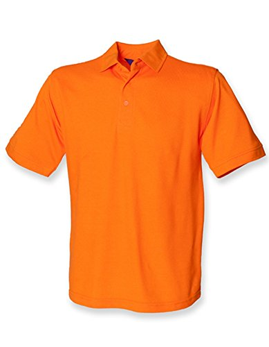 Men`s 65/35 Classic Piqué Polo Shirt Orange